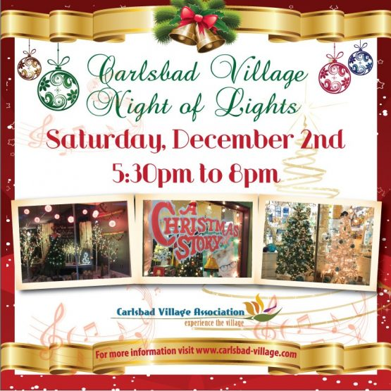 Carlsbad Village Night of Lights