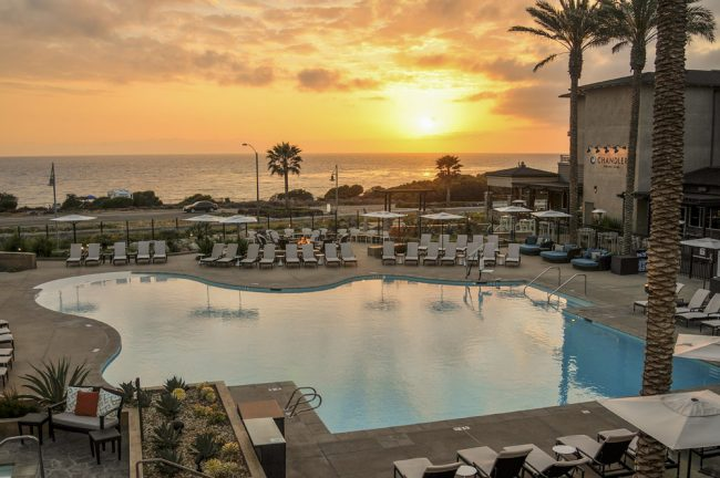 the Hilton Cape Rey Resort in Carlsbad