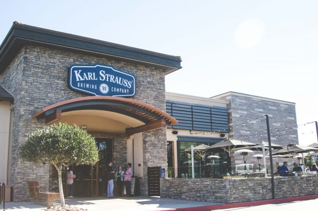 Karl Strauss Brewery and Restaurant Carlsbad CA