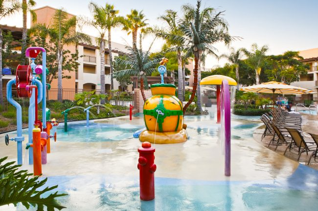 Palisades Family Pool Interactive Water Features in Carlsbad CA
