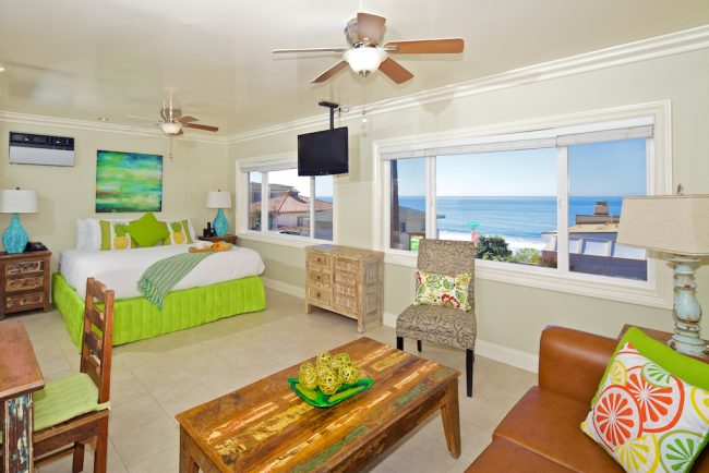 Ocean Palms Carlsbad Living Area