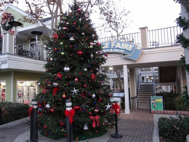 Village Faire Christmas tree carlsbad