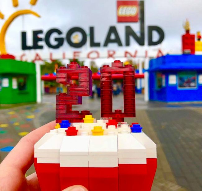legoland 20th birthday celebration