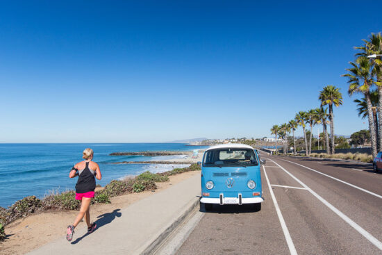 Miles of beaches in Carlsbad