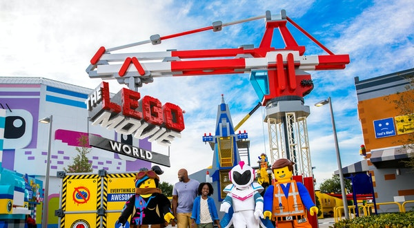 Hollywood Comes to Life at LEGOLAND's Newest Attraction
